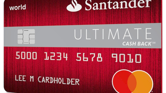 Activate Santander Credit Card