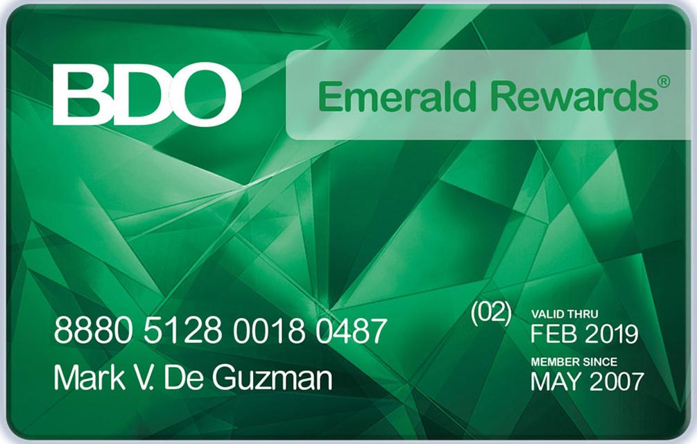 BDO Credit Card Activation