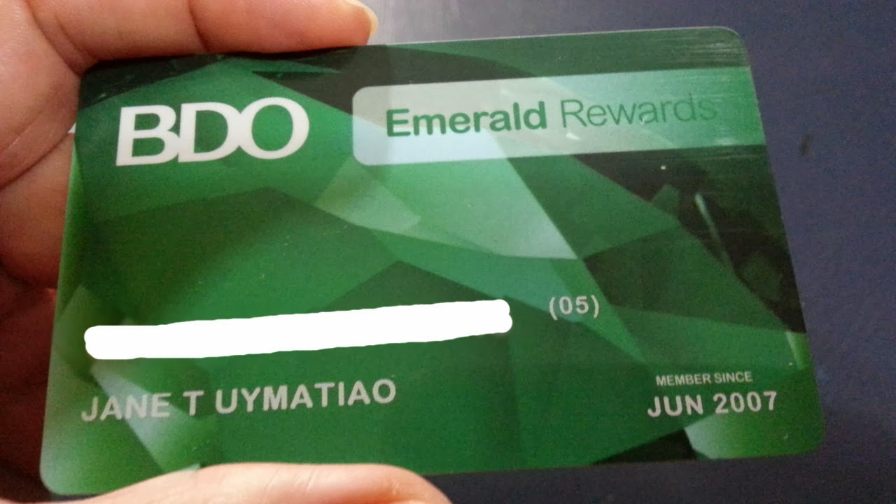 Emerald Card Activation