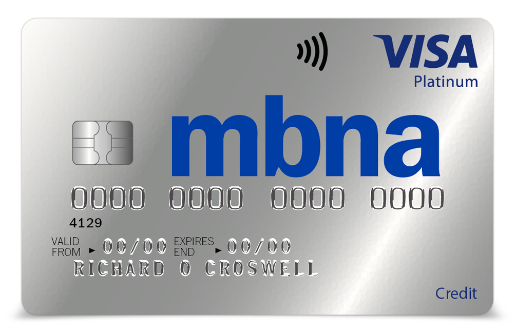 MBNA CARD ACTIVATION