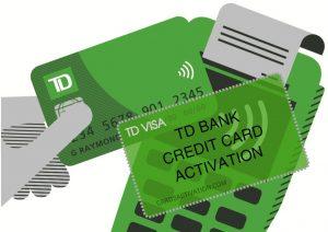 TD Credit Card Activation