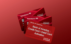 bank of america debit card activation   credit card activation