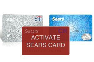 Activate Sears Card