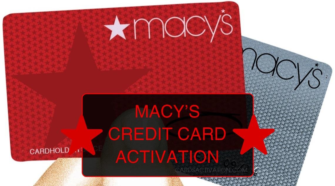 Macys Credit Card Activation