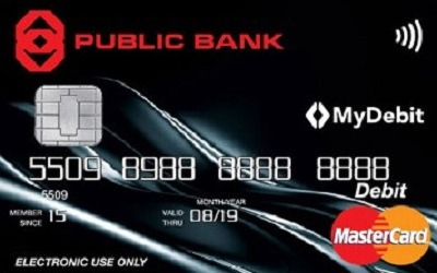 Public Bank MasterCard Lifestyle Debit Card