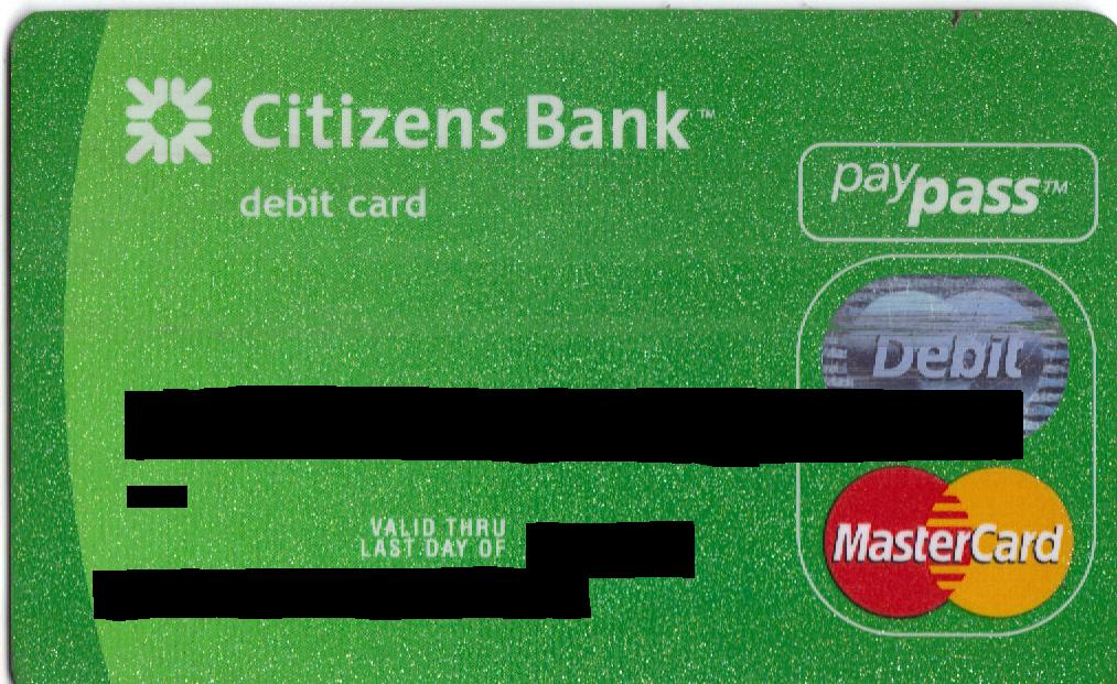 Activate Citizens Bank Card