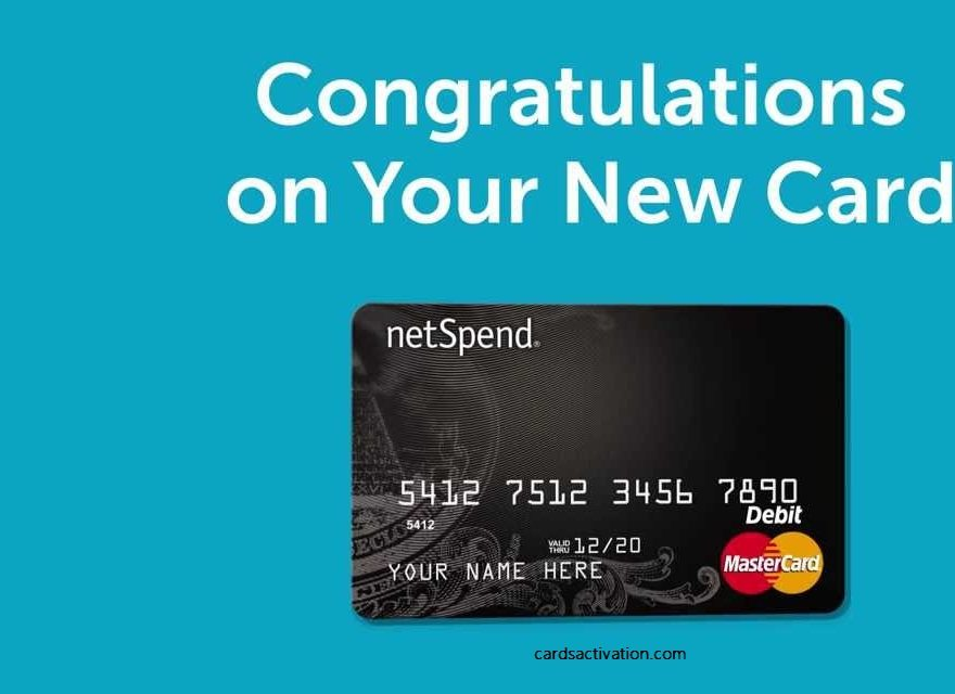 Activate Netspend card