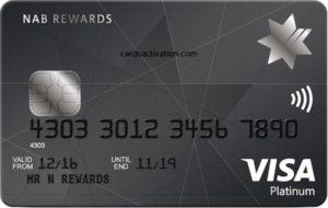 NAB CARD ACTIVATION