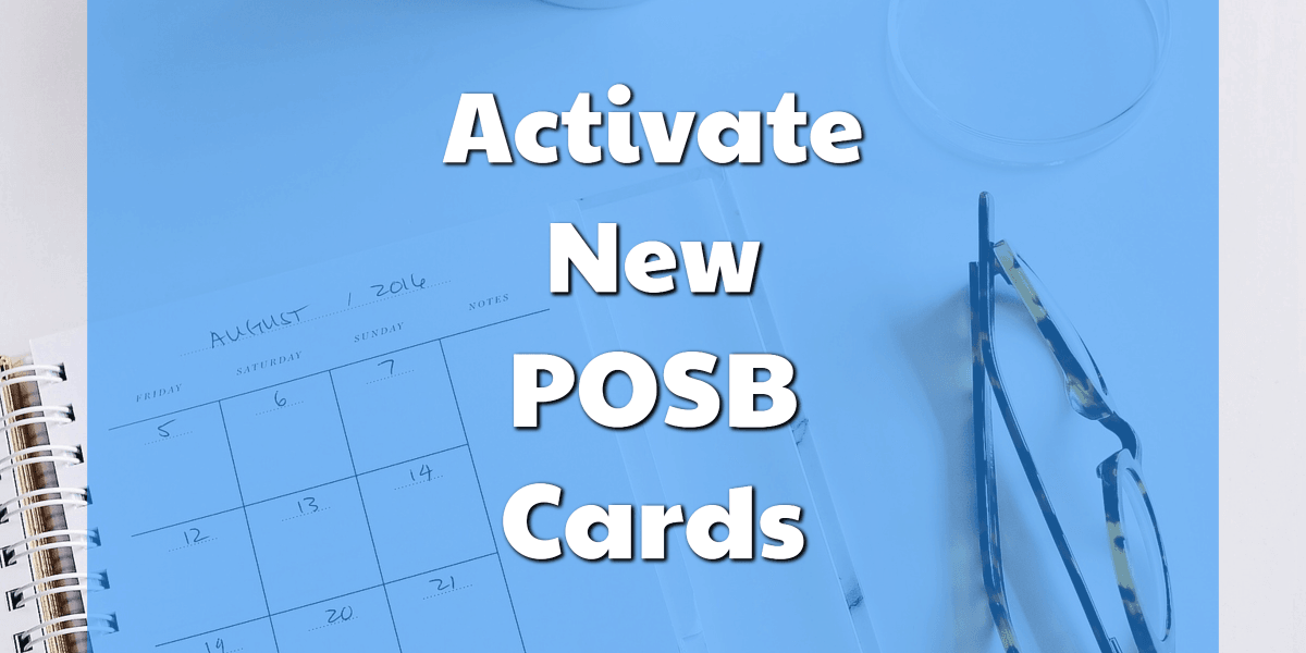 POSB Card Activation