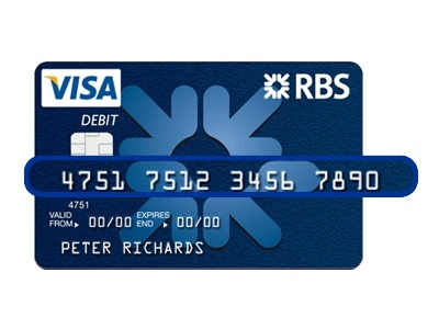 RBS Card Activation