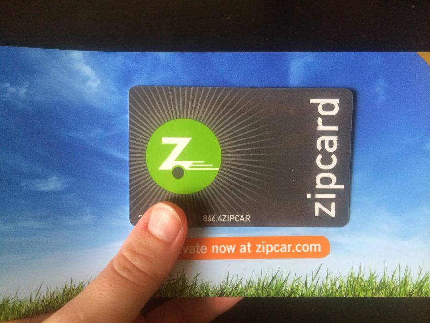 Zipcar Card Activation