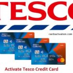 ACTIVATE TESCO CREDIT CARD
