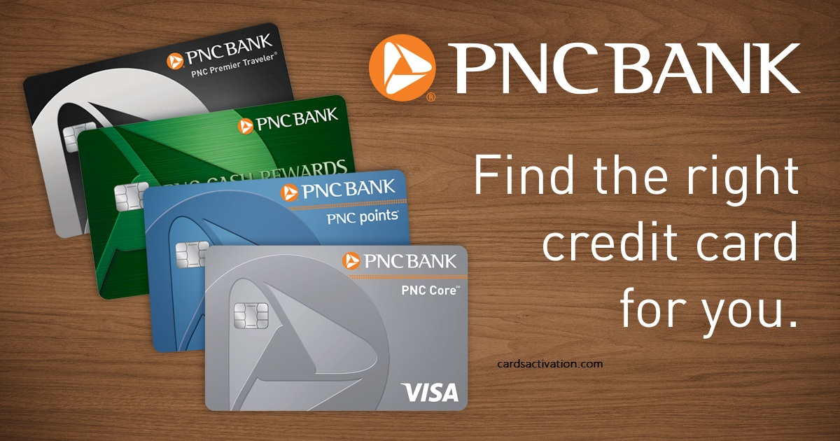PNC Bank Credit Card Activation