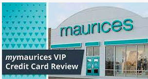 Maurices Credit card – Payment