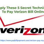 Verizon Pay My Bill &  Easy Bill Payment | Verify Account