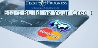 first progress card