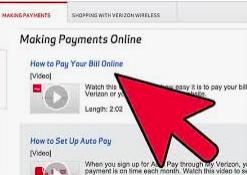 Verizon Bill Pay