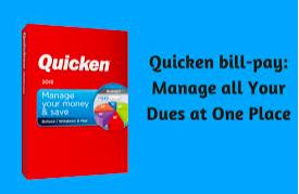 Quicken Bill Pay Login